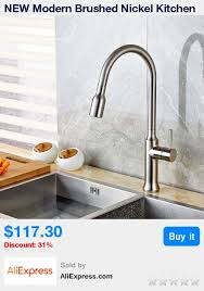 Discount Moen Kitchen Faucets Best 25 Brushed Nickel Kitchen Faucet Ideas On Pinterest Moen