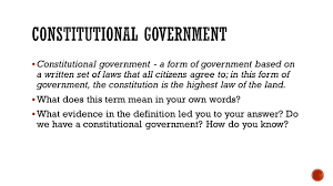 lesson 17 u2013 constitutional limits ppt video online download