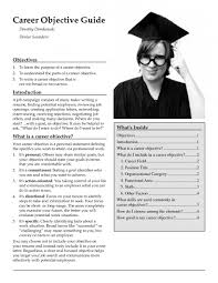 Resume Introduction Examples by What To Write As Career Objective In Resume Resume For Your Job