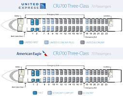 American Airlines Floor Plan Aircraft Skywest Airlines