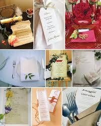 id e menu mariage ideas for wedding menu presentations wedding and decoration