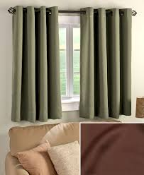 short panel blackout curtain the lakeside collection