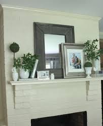 best 25 summer mantle decor ideas on fireplace mantel