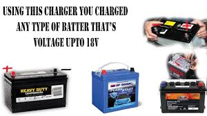 how to charge your car bike battery using mobile charger at home