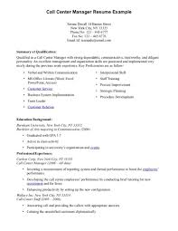 resume objective examples call center resume ixiplay free resume