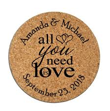 wedding favor coasters wedding favors the ultimate guide chic stylish weddings