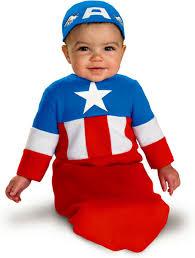 newborn bunting halloween costumes 0 3 months captainamerica baby costume baby costumes pinterest baby