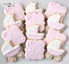 new baby shower best 25 baby girl cookies ideas on baby shower