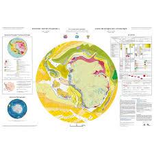 Map Of Antarctica Tectonic Map Of Antarctica Ccgm Cgmw