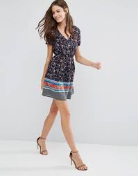 yumi yumi floral short dress