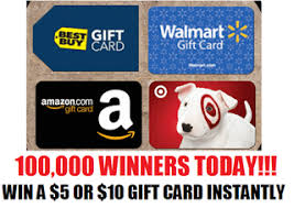 instant win gift cards coupons and freebies gift card instant win giveaway