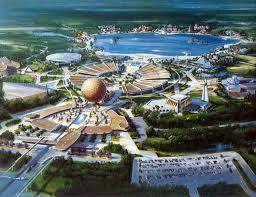 Epcot Orlando Map by Epcot Origins U2013 Master Plan 5 1977 Progress City U S A