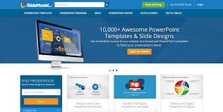 slidemodel review powerpoint templates for professional