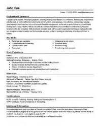 process associate resume samples visualcv resume samples process