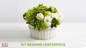 flower arrangement tutorial diy wedding centerpiece youtube