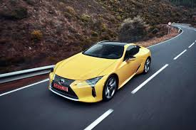 lexus is300 yellow first drive 2018 lexus lc 500 and 500h automobile magazine