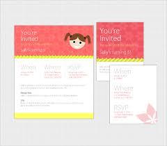 20 email birthday invitation templates u2013 free sample example
