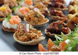 food canapes canapes canape finger food pictures search photographs and photo