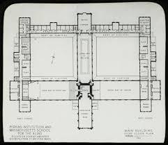 Building Floor Plan by Main Building Floor Plan Description Perkins Institution U2026 Flickr