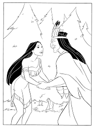 disney princess pocahontas coloring pages womanmate com