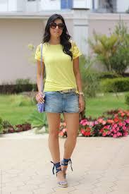 New Look: Short Jeans + Camiseta Colorida – Jessica Flores &RZ04