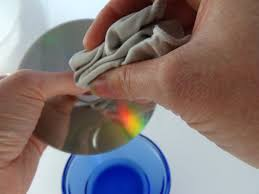 how to clean dvds blu rays and video games