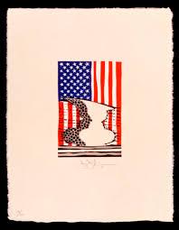 Philadelphia Flag Ica Philadelphia Pa Jasper Johns Flag And Vase