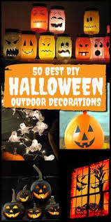 Outdoor Halloween Decorations Diy 20 Easy And Cheap Diy Outdoor Halloween Decoration Ideas Diy