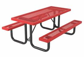 Commercial Picnic Tables by Regal Expanded Metal Thermoplastic Picnic Tables A Picnic Table