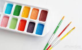 color paints homemade water color paints