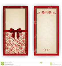 Invitation Cards Free Download Elegant Vector Template For Luxury Invitation Royalty Free Stock
