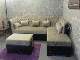 Latest L Shaped Sofa Designs Sofa L Shape Seven Seater Sectional Sofa Best Quality Foam Fabric