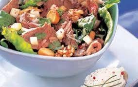 cuisiner du paleron de boeuf recette salade de paleron de boeuf 750g