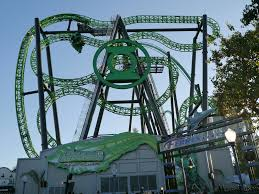 Six Flags Los Angeles Green Lantern Roller Coaster Six Flags Magic Mountain