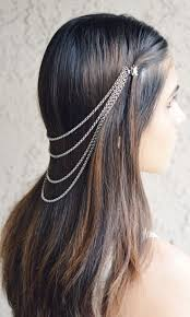 Hair Extensions Using Beads by Best 20 Hair Chains Ideas On Pinterest Wedding Hair Jewelry