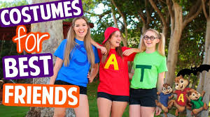 diy best friend halloween costumes youtube