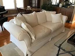 pottery barn charleston grand sofa pottery barn charleston slipcovered 96 inch grand sofa ebay