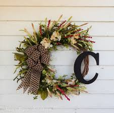 spring wreaths for front door joyful handmade spring wreath ideas to decorate your front door