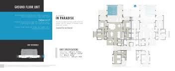 Casa Fortuna Floor Plan Las Marietas Punta Mita Mexico Luxury Real Estate