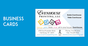 business cards evenhouse printing