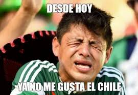Memes Mexico - 17 hilarious mexico vs chile memes you may have missed while you