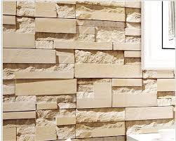 Graue Wand Und Stein Online Kaufen Großhandel Tapete Stein Wand Aus China Tapete Stein