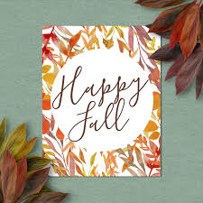 thanksgiving printable greeting cards happy fall printable art print 4x6 5x7 8x10 11x14 12x16 fall