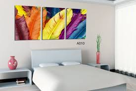3 rectangle artistic home decor murals canvas painting abstract