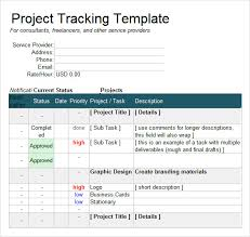 sample excel tracking 7 documents in excel