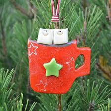 cocoa cup ornament tis the season ornaments