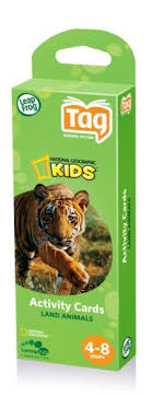 leapfrog tag national geographic activity cards