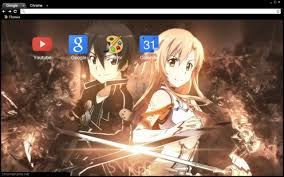 Theme Google Chrome Sword Art Online | sao theme 1920x1080 chrome web store