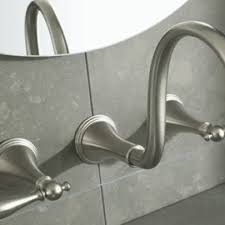 kohler wall mount kitchen faucet kohler karbon wall mount kitchen faucet