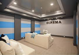 home theater room colors ashburn transitional basement theatre